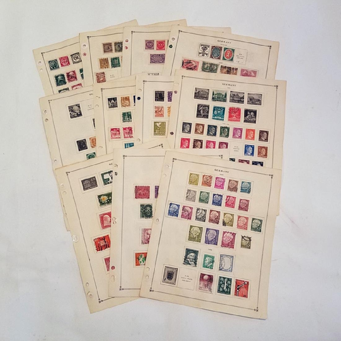 Germany Classic Stamp Album Pages 490+ Stamps