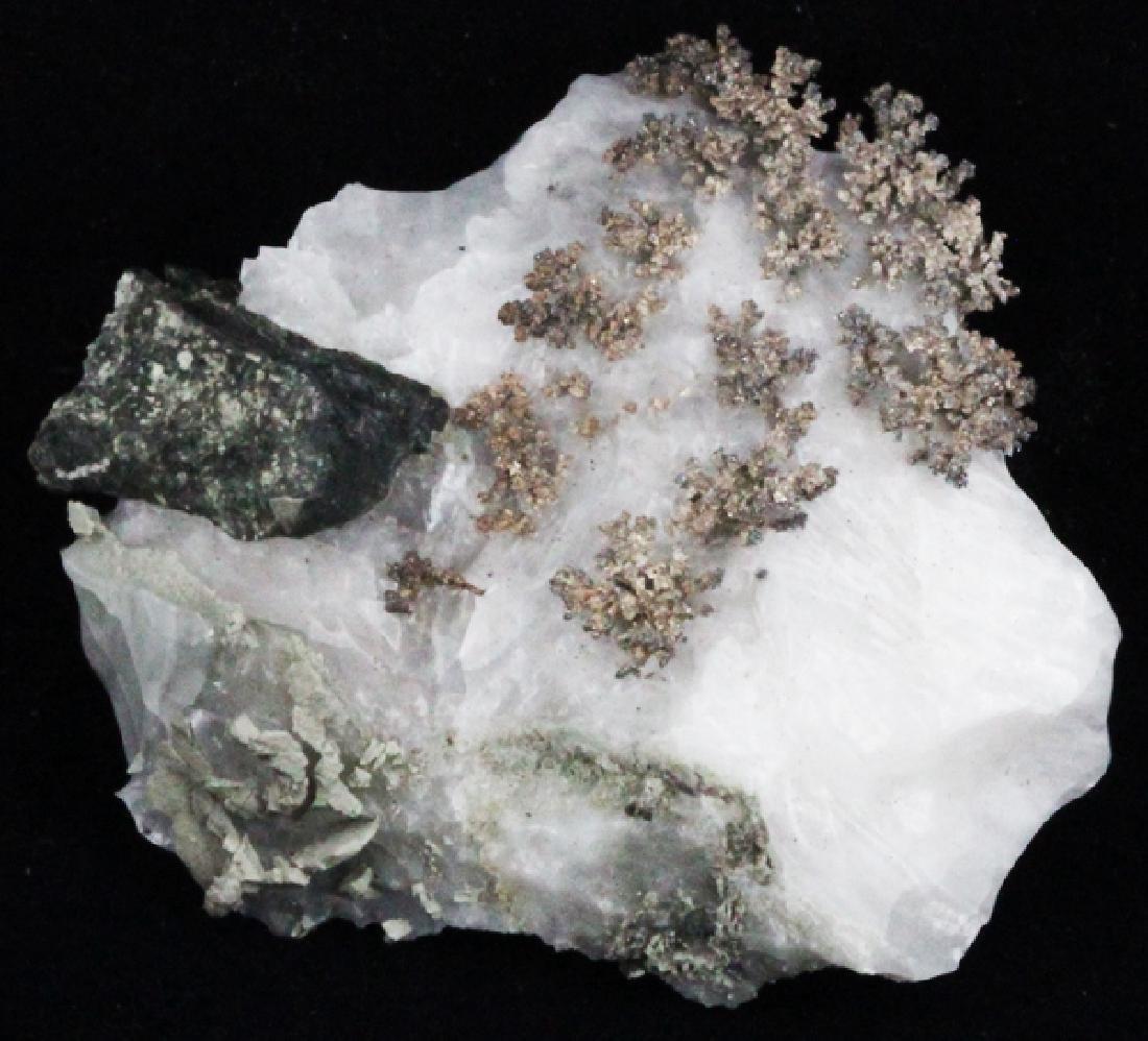 105ct RARE Natural Silver Crystal Cluster on Matrix