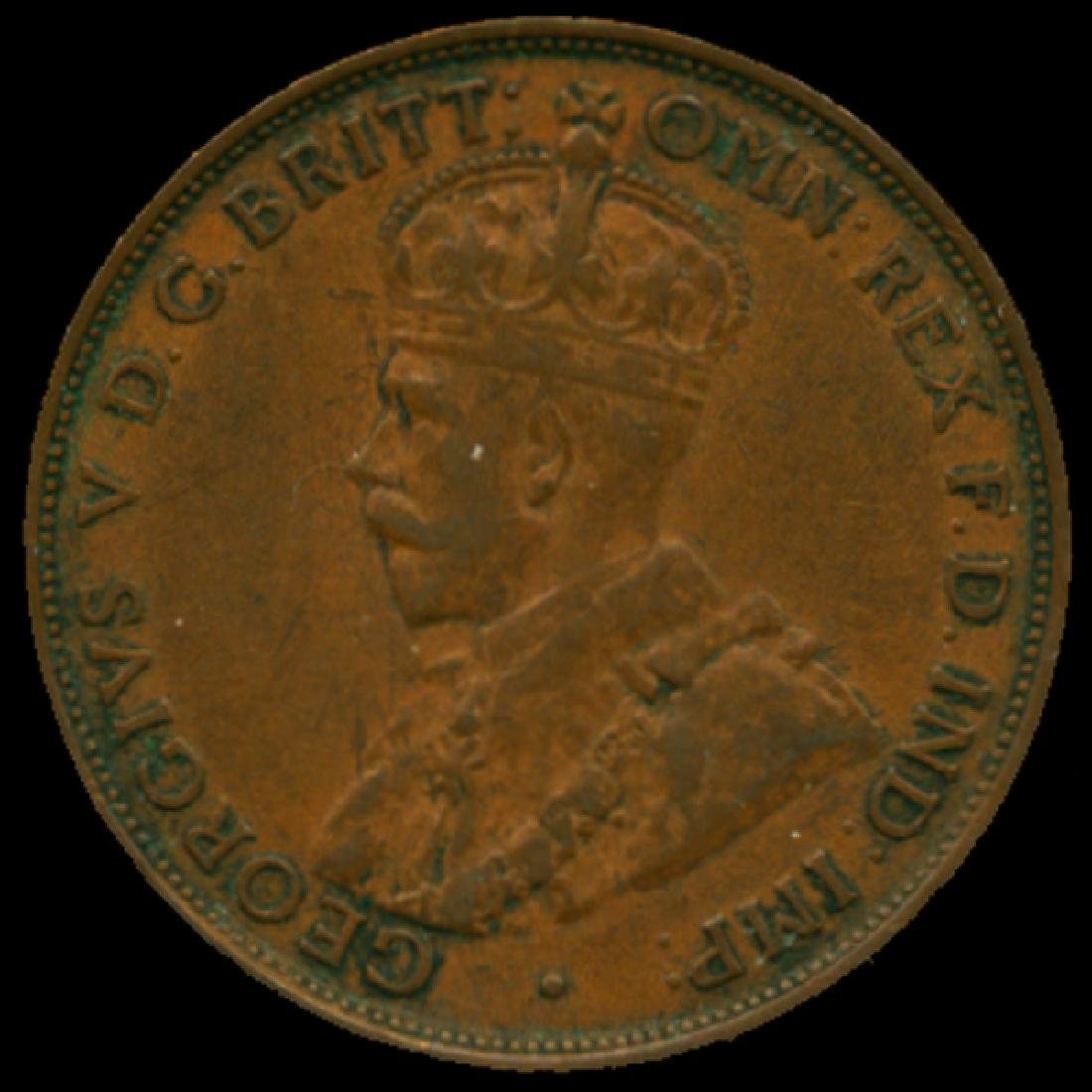 1932M Australia Large Penny Hi Grade XF HIGH BOOK VAL