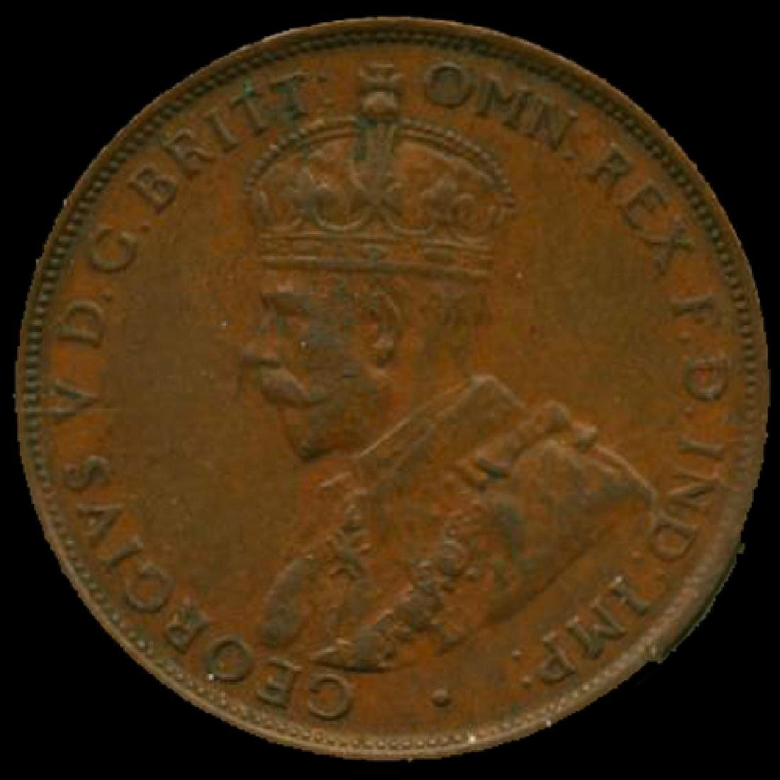 1935M Australia Large Penny Hi Grade CHOICE Unc HIGH