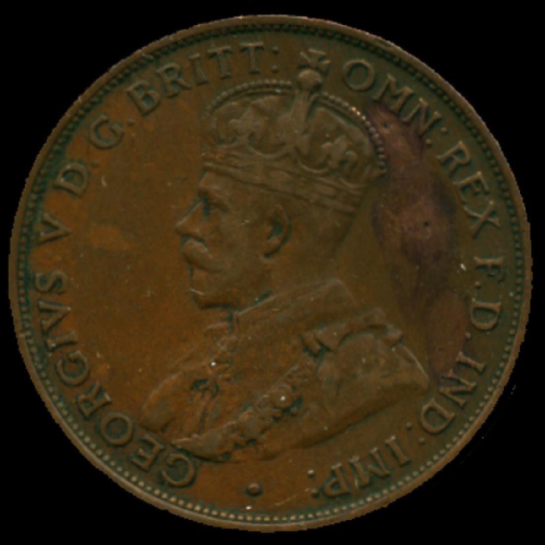 1931M Australia Large Penny Hi Grade XF High Book Value