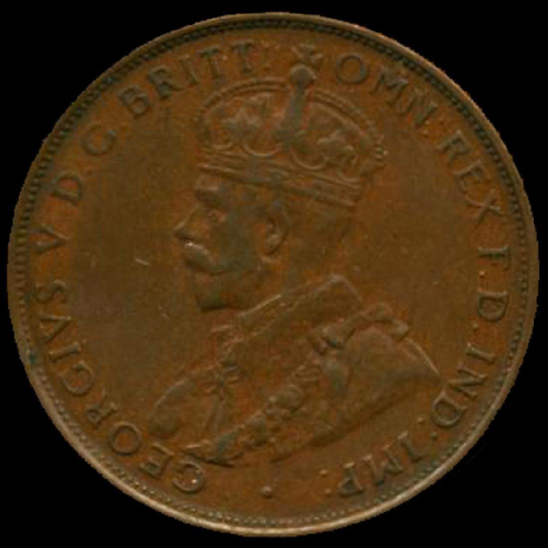 1935M Australia Large Penny Hi Grade AU++ BV high book