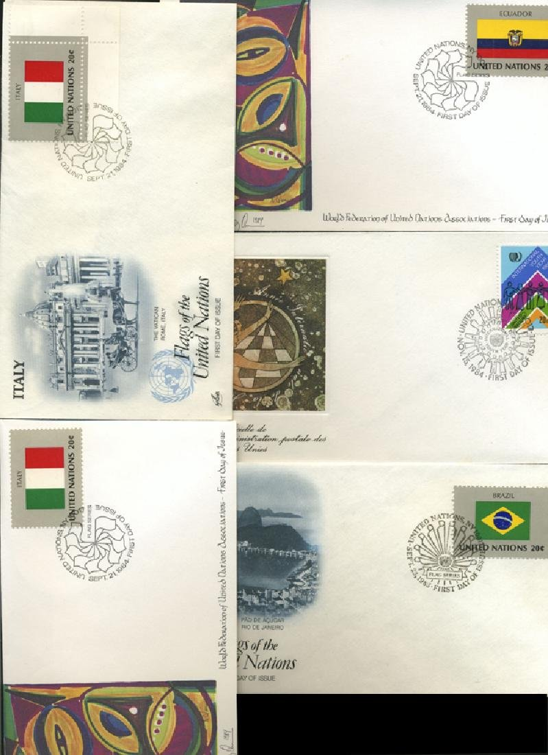 1982 UN FIRST DAY COVER COLLECTION