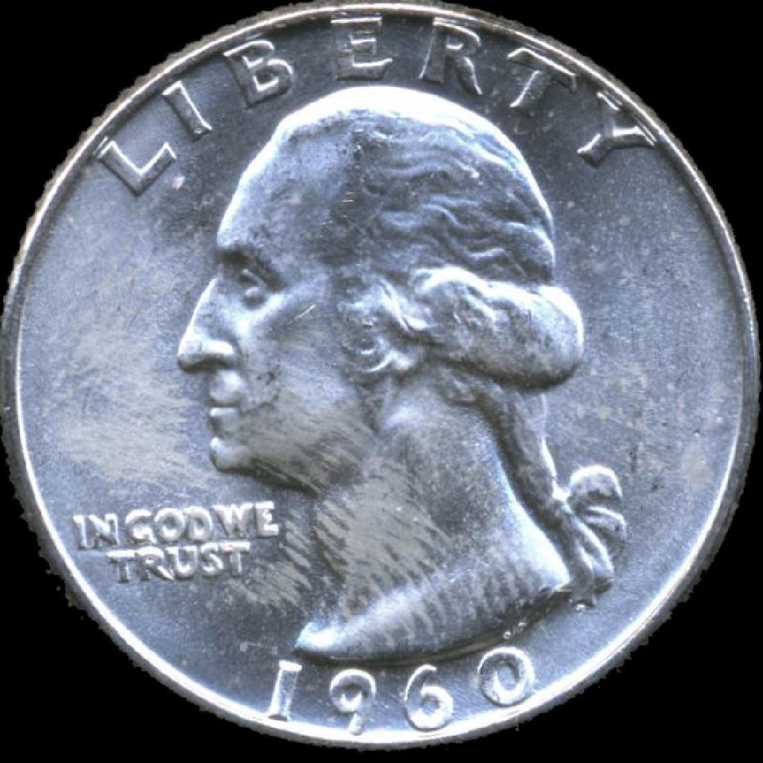 1960D Washington 25c GEM+ Unc RARE D/D/D ERROR