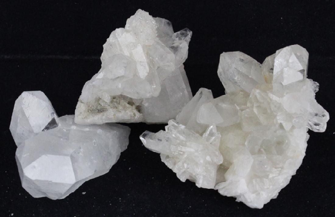 White Quartz Crystal Parcel
