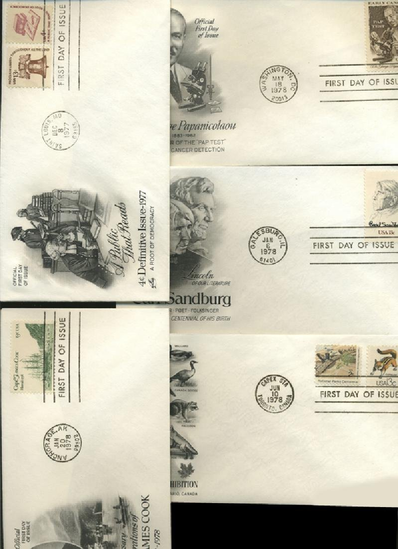 1977 US & UN FIRST DAY COVER COLLECTION