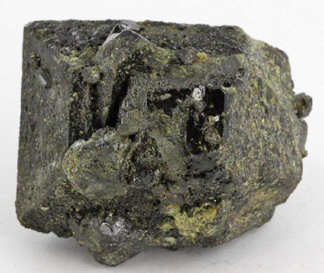 910ct Scarce Epidote Crystal Cluster