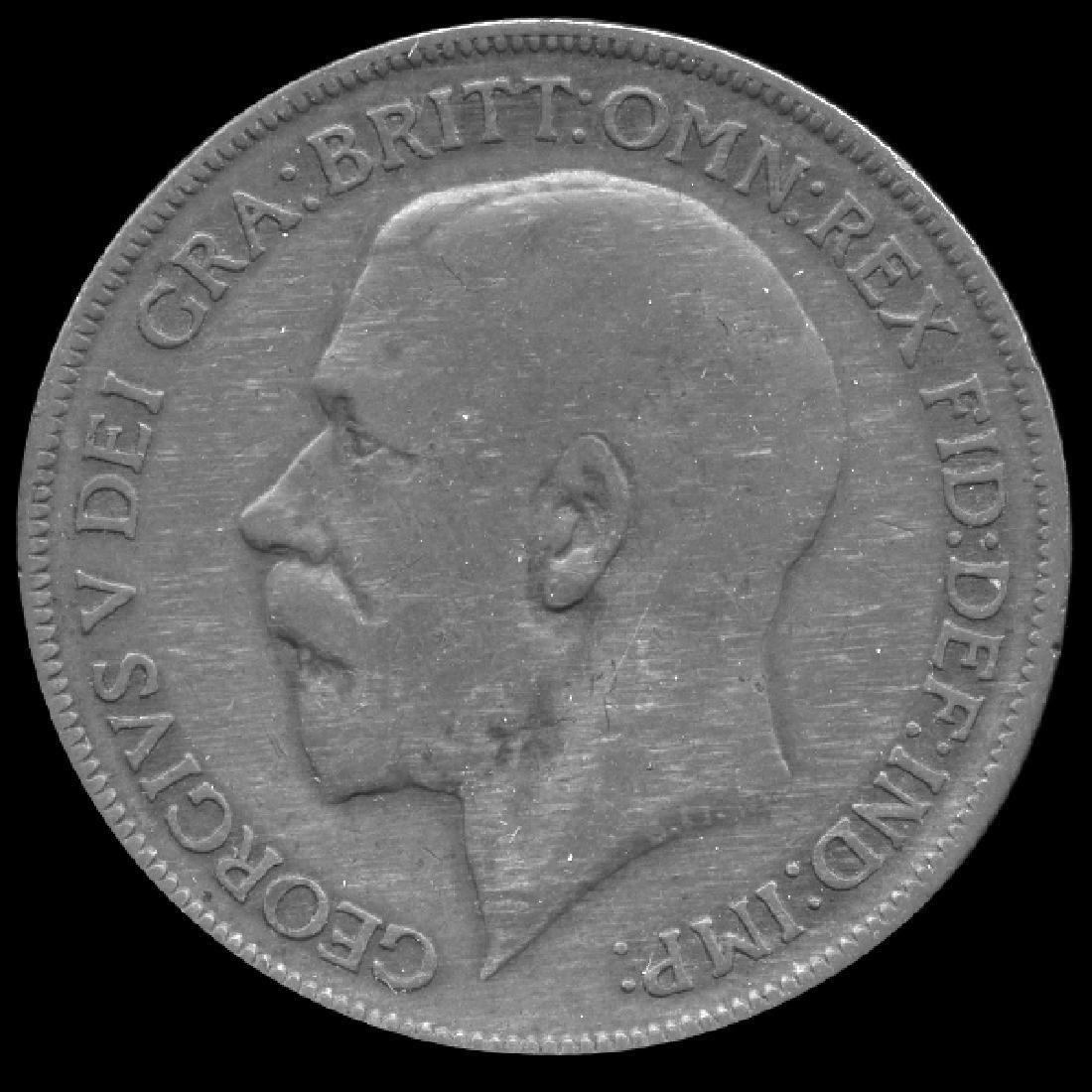 1921 British Geo V 1p VF