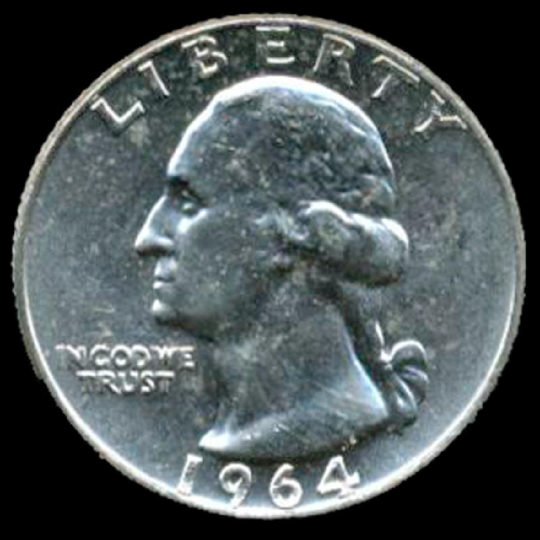 1964 Silver GW 25c Super Gem++