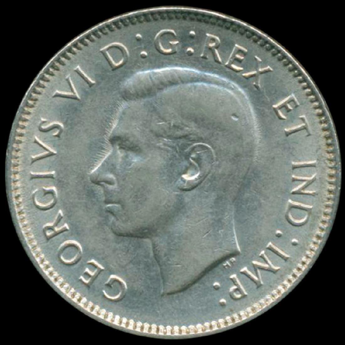 1938 Canada 5c Nickel AU+