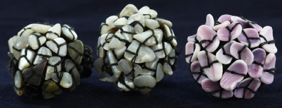 Crocheted Shell Ring Parcel
