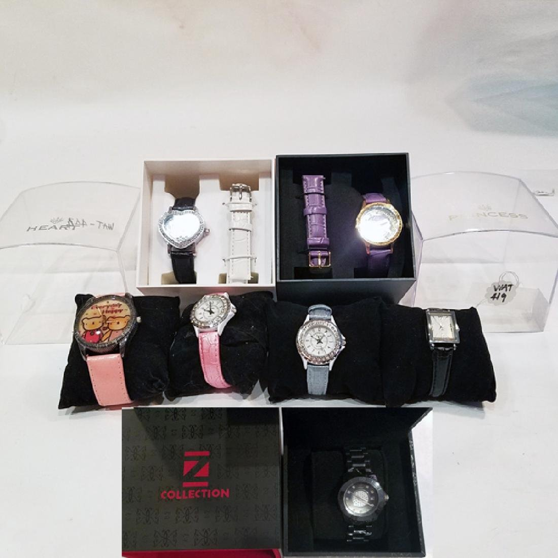 Collection 7 Women's NEW Watches All Working SOME BLING