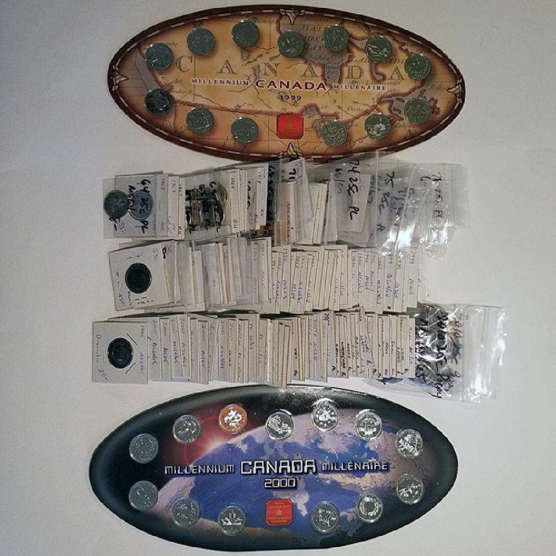 Canada High Grade 25c Coin Hoard CV $15k+