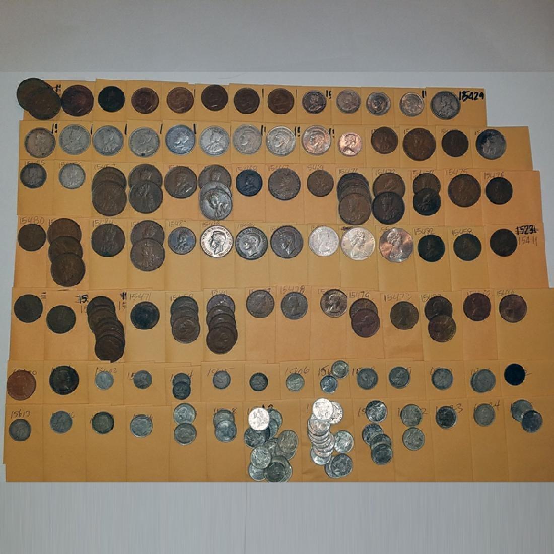 Austrailian Huge Higher Value Coin Hoard CV $30k+
