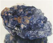 2045ct Azurite Crystal Cluster