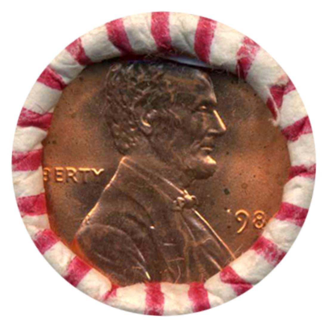 1984 Lincoln Cent Scarce Never Opened BU Roll