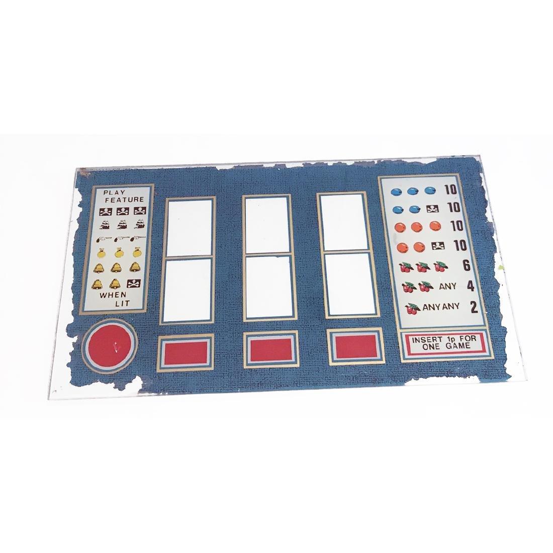 5c Antique Slot Machine Glass