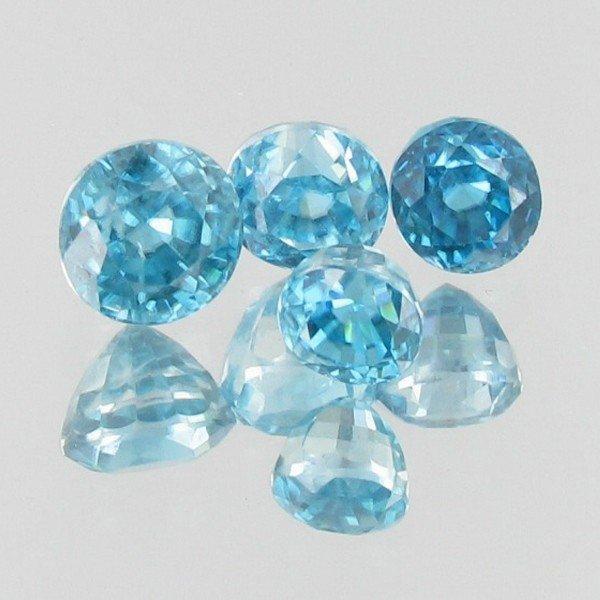 20D: 8.01ct Blue Zircon Appraised $12k