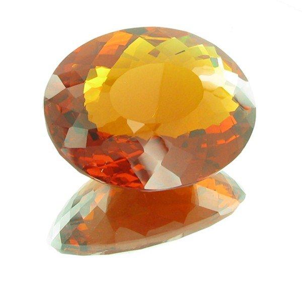 19E: 475ct Mandarin Orange Citrine Appraised $131k