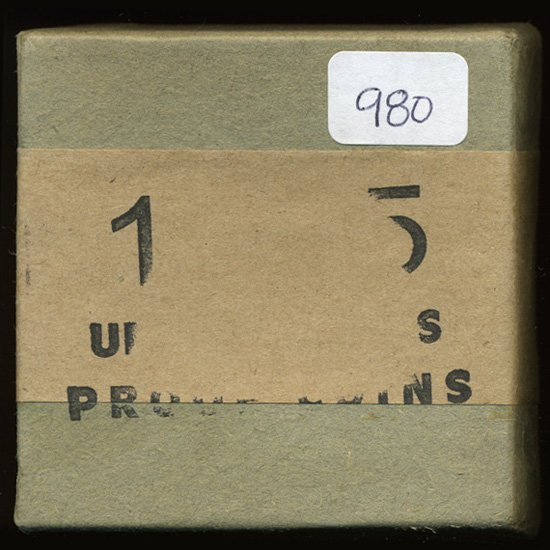 1X: 1955 RARE Unopened Envelope/Box Proof Set