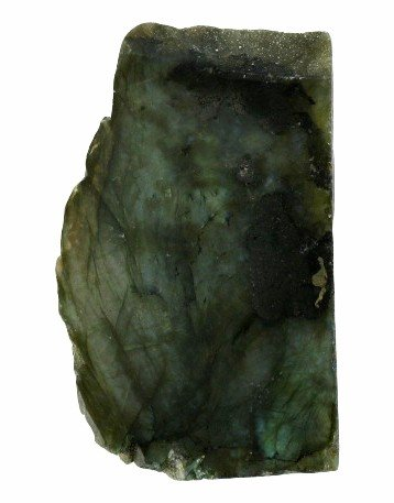 13: 400ct Labradorite Polished Slab Peacock Colors
