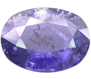 2: 0.74ct Top Blue Violet Natural Iolite Oval Cut