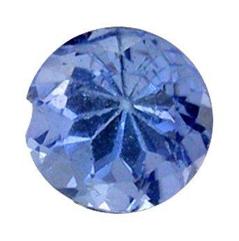3: 0.26ct Natural Blue Tanzanite Round Hi Grade