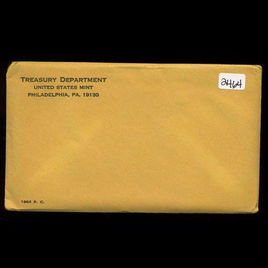 10: 1964 RARE Unopened Envelope Proof Set