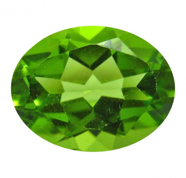 19: 2.62 ct Natural Lustrous Oval Green Peridot