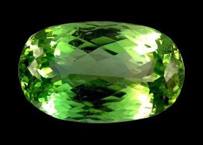 1277: 42.30ct Natural Top Deep Green Patroke Kunzite