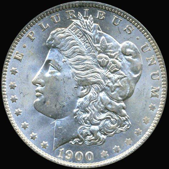 16A: 1900O Morgan Dollar Graded MS68 RARE Variery