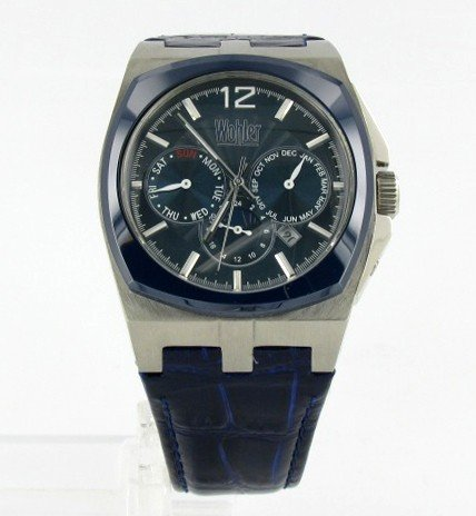 6A: New Wohler Mens CHRONO Style Watch Retail $2295