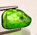 7: .5ct Fabulous Green Chrome Diopside Briolette