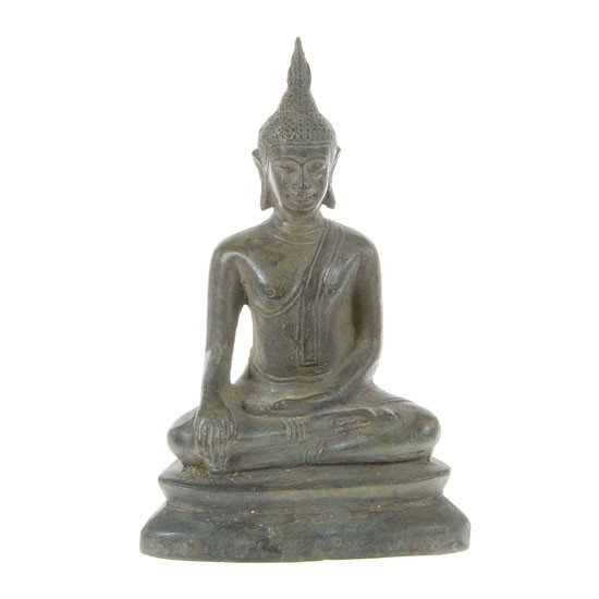 15: Original North Thai Temple Offering Buddha