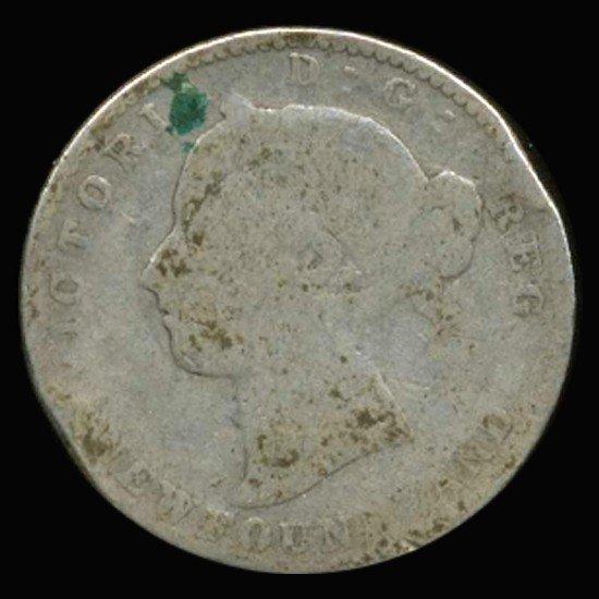 2A: 1894 Canada Newfoundland 10c Silver Circulated