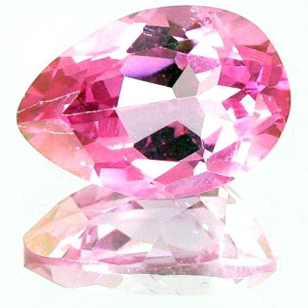 5A: 7.69ct Fuscia Pink Topaz Appraised $23k