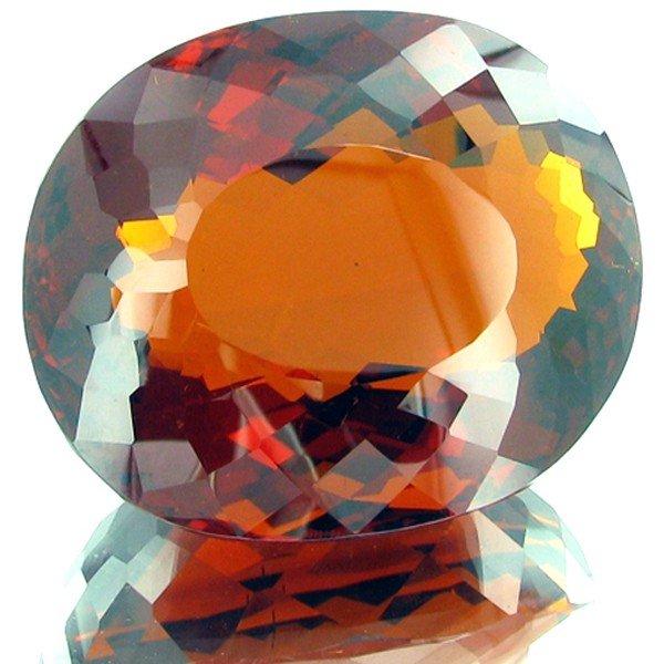 9B: 742.5ct Mandarin Orange Citrine Appraised $197k