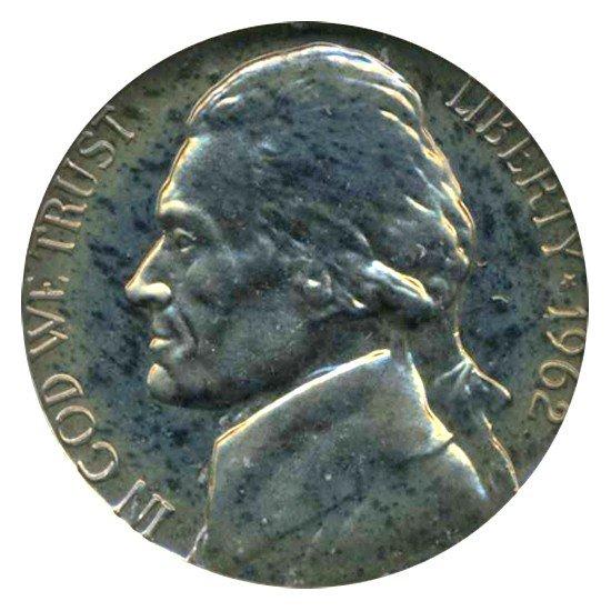 3: 1963 Jefferson Nickel PROOF Graded PR69 CAM