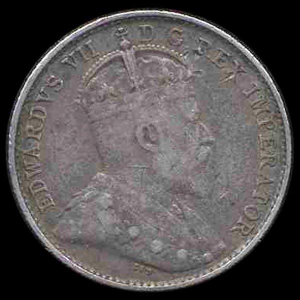13: 1902 Canada 5c XF
