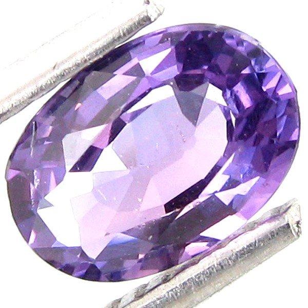 14: 1.16ct Oval Purple Unheated Genuine Sapphire