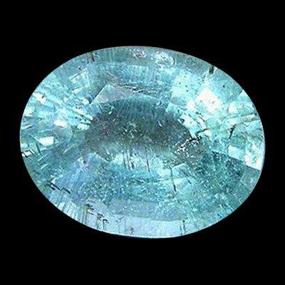 601: 5.00ct Neon Aqua Copper Tourmaline Appr Est $60k
