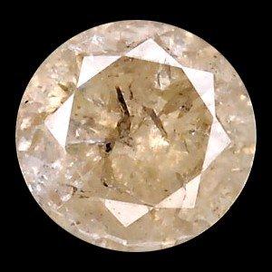 2A: .19ct Unheated Light Yellow Diamond