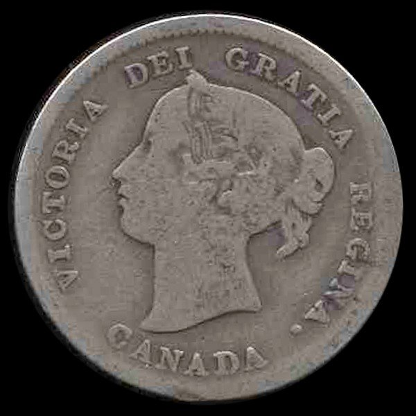 3: 1898 Canada 5c Better Circulated
