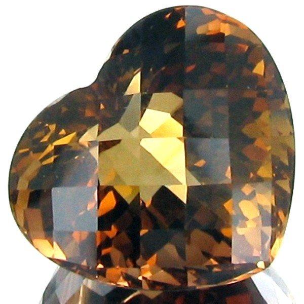 1367: 30.9ct Cognac Orange Imperial Topaz Apprsd $70k