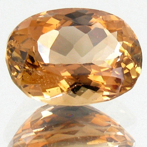 12A: 12.37ct Golden Yel. Imperial Topaz Appraised $37k