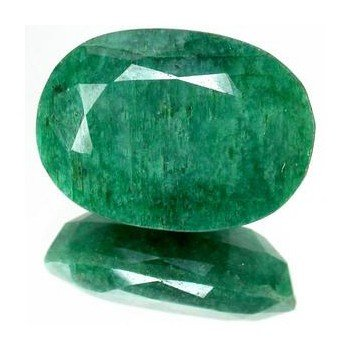 4: 4+ct. Excellent Oval Cut S. American Emerald
