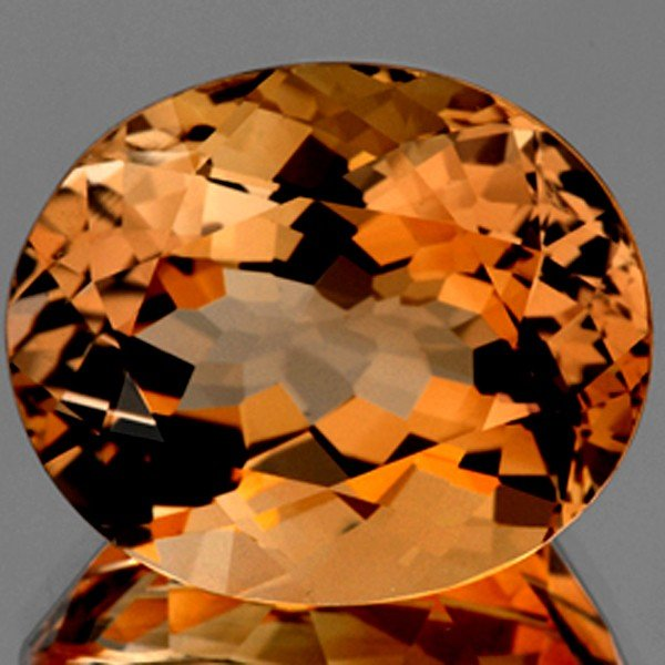 921: 41.82ct AAA Imperial Champagne Topaz Natural