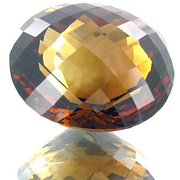 527: 43.64ct Imperial Topaz Appraised $175k