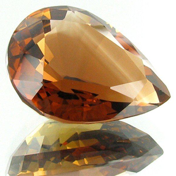 8A: 69.4ct Imperial Topaz Appraised $186k