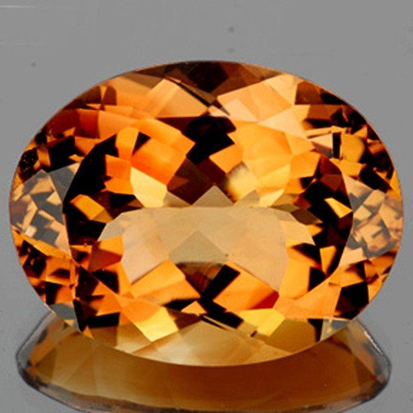 1264: 84.57ct AAA Golden Peace Imperial Topaz Natural